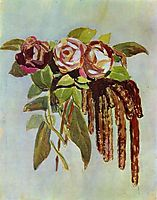 Roses and Catkins, c.1902, musatov