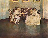 Silence (Indoors), 1900, musatov
