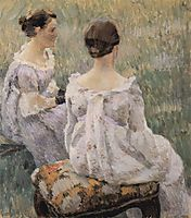 Two Ladies, 1899, musatov