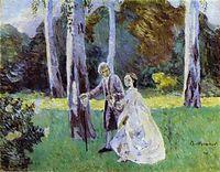 A Walk, 1901, musatov