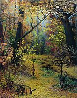 Autumn Morning, 1893, myasoyedov