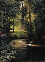 Creek in the forest, myasoyedov