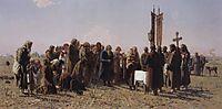 Prayer in time of drought, myasoyedov