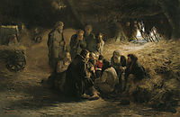 Reading of the 1861 Manifesto, 1873, myasoyedov