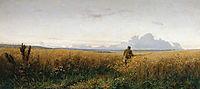 The road in the rye, 1881, myasoyedov