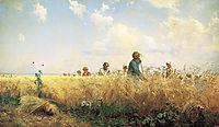 Time of harvesting (Mowers), 1887, myasoyedov
