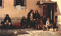 Zemstvo is having their lunch, 1872, myasoyedov