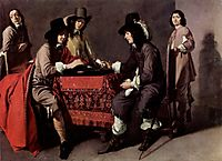 Backgammon players, nain