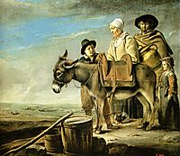 Family of milk seller, c.1640, nain