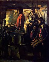 The Forging, c.1640, nain
