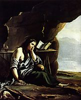 Mary Magdalene in Meditation, nain