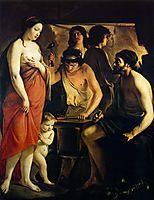 Venus in Vulcan-s Forge, 1641, nain