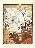 Illustration. -Fairy Tales: Teremok. Mizgir-., 1910, narbut