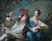 Die Liebenden, 1744, nattier