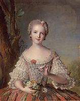 Madame Louise of France, 1748, nattier