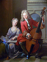 The Music Lesson, 1710, nattier