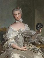 Portrait de la comtesse de Sérent, 1754, nattier