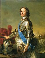 Portrait of Tsar Peter I, 1717, nattier