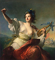 Terpsichore, Muse of Dance, 1739, nattier