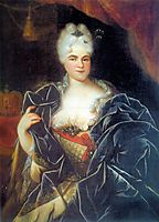 Catherine I of Russia, 1717, nikitin