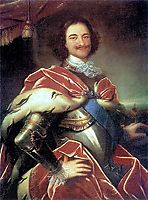 Peter I, 1717, nikitin