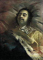Peter I on his deathbed, 1725, nikitin