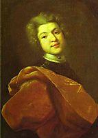 Portrait of Baron S. G. Stroganoff, 1726, nikitin