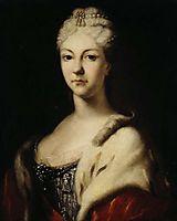 Tzarina Natalia Alekseevna, c.1710, nikitin