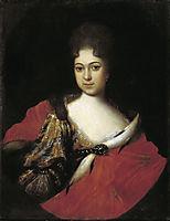 Tzarina Praskovia Ioanovna, 1714, nikitin