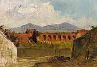 A Roman Aqueduct, c.1875, nittis