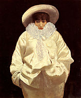 Sarah Bernhardt as Pierrot , nittis