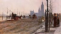 The Victoria Embankment, London, 1875, nittis