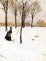 A Winter-s Landscape, 1875, nittis