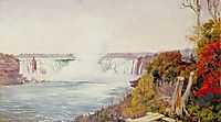 View of Both Falls of Niagara, 1871, north