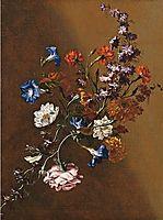 Natura morta con tralcio di fiori, nuzzi