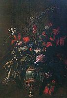 Natura morta di fiori in un vaso, nuzzi