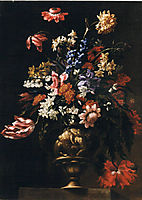 Still life with a vase of flowers, nuzzi