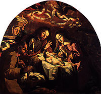 Nativity of Jesus, 1669, obidos