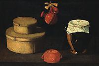 Natureza morta (caixa com potes), 1660, obidos