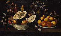 Natureza morta com frutos e flores, 1670, obidos