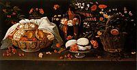 Natureza morta - Doces e Flores, 1676, obidos