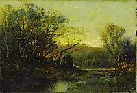 Autumn Landscape, onderdonk