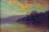 Autumn Sunset, 1908, onderdonk