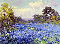 Blue Bonnets at Late Afternoon, 1915, onderdonk