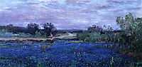 Blue Bonnets at Twilight, 1922, onderdonk