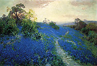 Bluebonnet Field, 1912, onderdonk