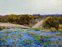 Bluebonnets at Late Afternoon, onderdonk