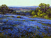 Bluebonnets, Late Afternoon, North of San Antonio, 1920, onderdonk