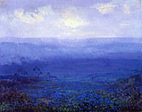 Bluebonnets in Texas, 1915, onderdonk
