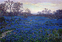 Bluebonnets at Twilight, near San Antonio, 1920, onderdonk